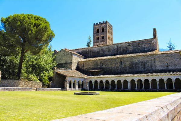 Abbaye Saint Michel de Cuxa à Codalet (Pyrénées-Orientales)