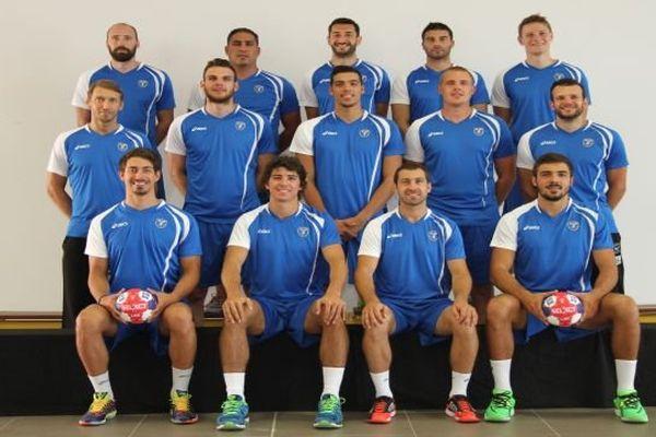 Montpellier - l'équipe officielle du MAHB pour la saison 2014-2015 - 21 juillet
