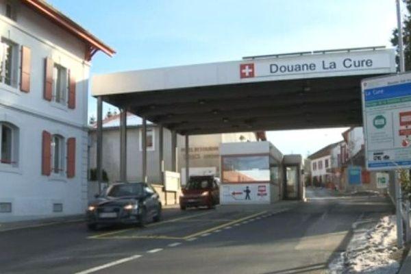 Entre Jura français et Jura vaudois, c'est à La Cure que la camionnette suspecte a été contrôlée par les douanes françaises.