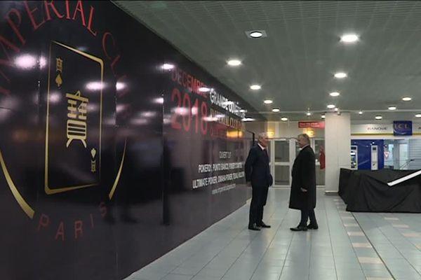 L'Imperial Club Paris, au sein du centre commercial Masséna, dans le 13ème arrondissement de Paris.