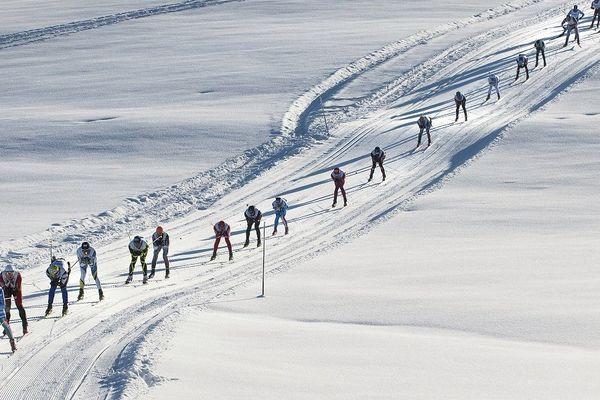 La Transjurassienne est la plus longue des courses de ski nordique en France