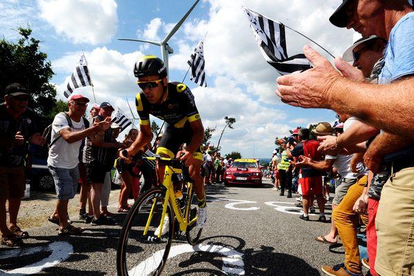 Lilian Calmejane veut absolument participer au Tour de France 2019 où, sa ville natale, Albi, accueillera une épreuve d'étape
