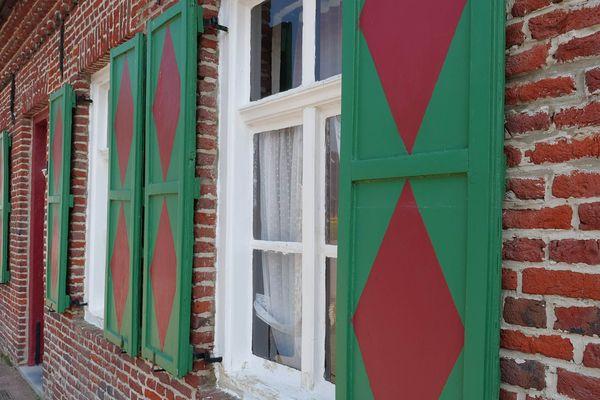 Les maisons flamandes de Terdeghem
