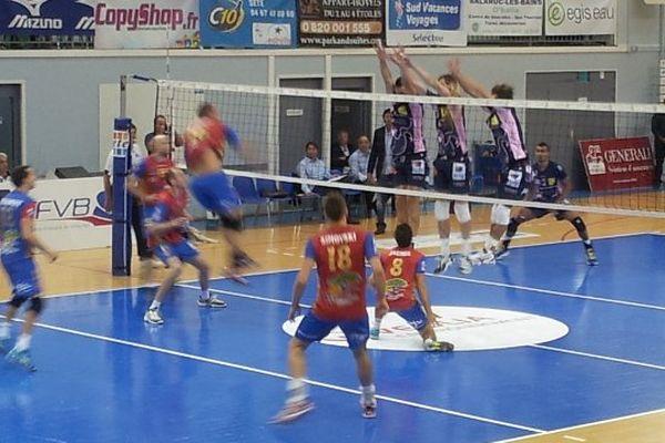 Sète (Hérault) - Sète est battu à domicile 3 sets à 1 par le Gazelec Ajaccio  - 15 octobre 2013.