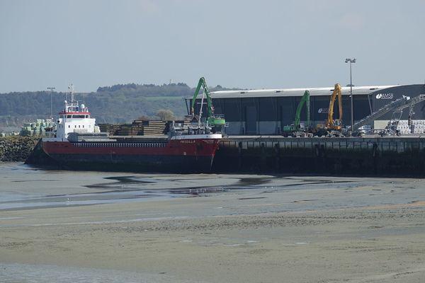 Entre 110 et 150 navires font escale au Légué chaque année