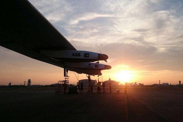 Solar Impulse ce mardi 2 juin au Japon.