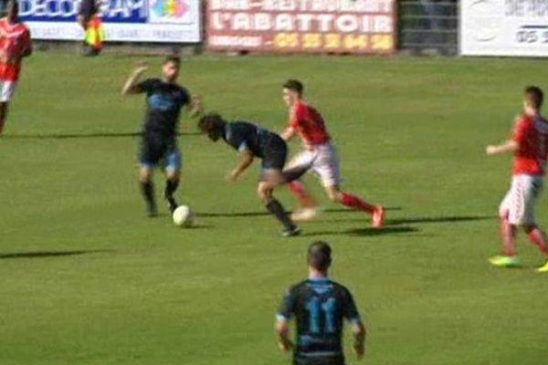 Rencontre entre le LFC et Bergerac au Stade Saint-Lazare