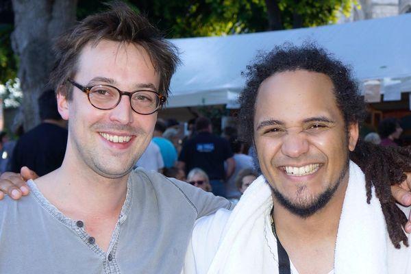 David Sevestre et David Hasack, le saxophoniste et le bassiste de OJazzO