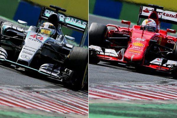 Une bataille Mercedes/Ferrari pour la victoire à Spa ?