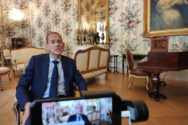 Franck Robine, préfet de Haute-Corse, a livré ses impressions au lendemain de l'annonce de son départ.