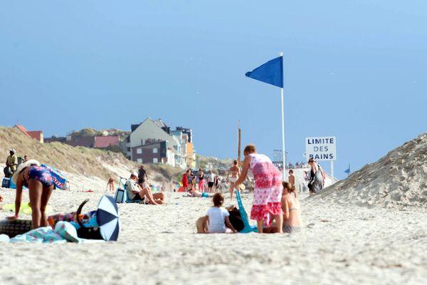 Les plages de la Baie de Somme, comme celle de Fort-Mahon, sont particulièrement appréciées des Picards lors des week-ends prolongés.