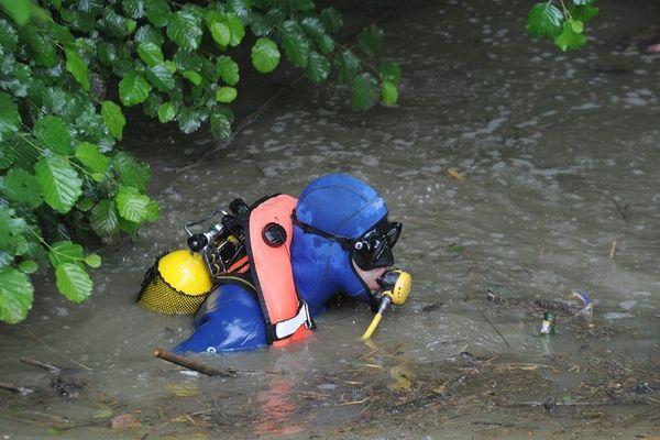 Un plongeur de la gendarmerie. Photo d'archives