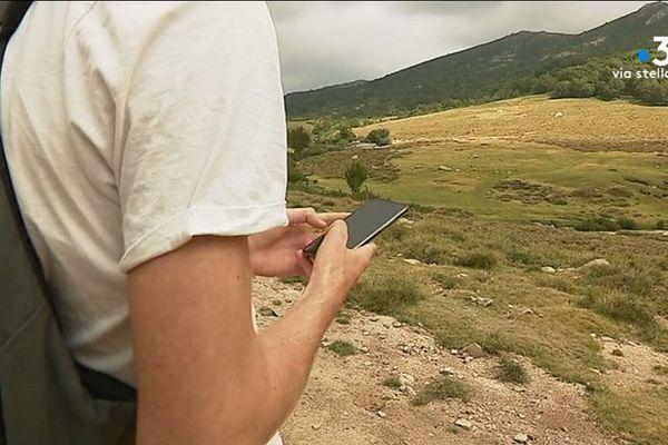 Sur le plateau d'Ese, le premier refuge en cas de problèmes, est la bergerie de François Nicolaï.