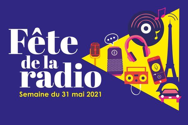 Visuel de la première Fête de la radio