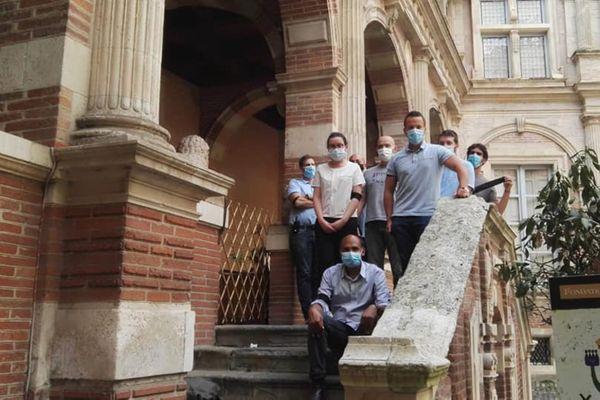Les salariés de la Fondation Bemberg à Toulouse en grève pour la Journée européenne du Patrimoine.