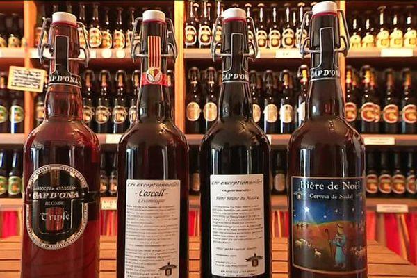 4 bières catalanes de la brasserie Cap d'Ona à Argelès-sur-Mer ont été médaillées au salon de l'agriculture - 4 mars 2017
