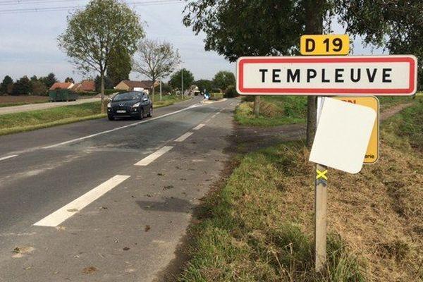 Il faudra attendre validation avant de changer les panneaux de Templeuve en Templeuve-en-Pévèle