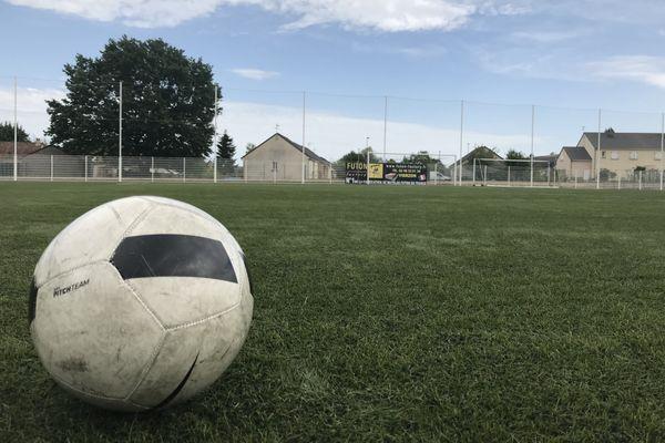 Au Vierzon FC, les ballons sont à l'arrêt à cause de cas suspects de coronavirus dans l'effectif du club évoluant en National 3.