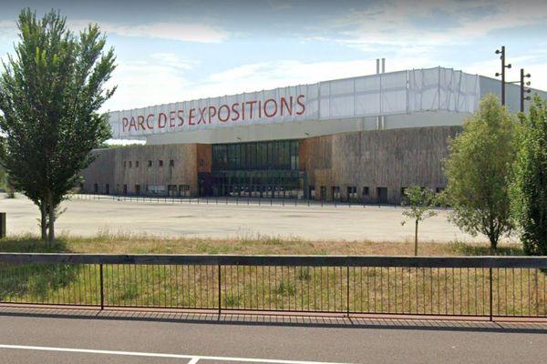 Le vaccinodrome du parc des expositions de Caen devrait pouvoir vacciner 1200 personnes par jour