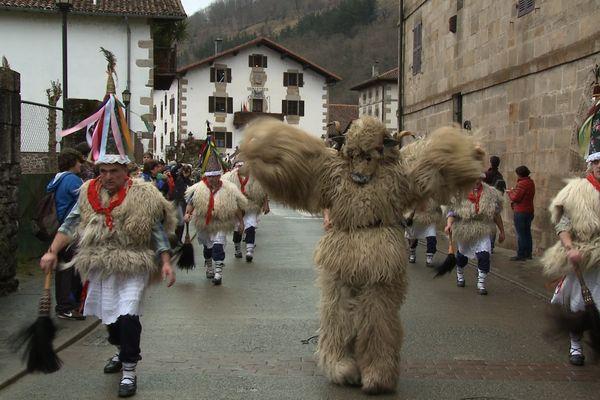 Carnaval d'Ituren et Zubieta, dans la région du Haut-Bidassoa au nord de la Navarre