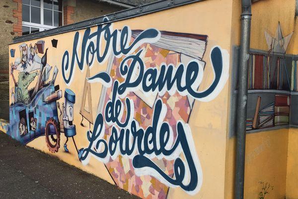 L'école privée Notre-Dame-de-Lourdes à Sainte-Pazanne