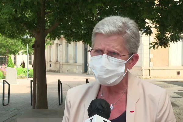 """Geneviève Darrieussecq (Liste """"L'union fait la région - Union des centres UDI, LREM, MoDem)"""