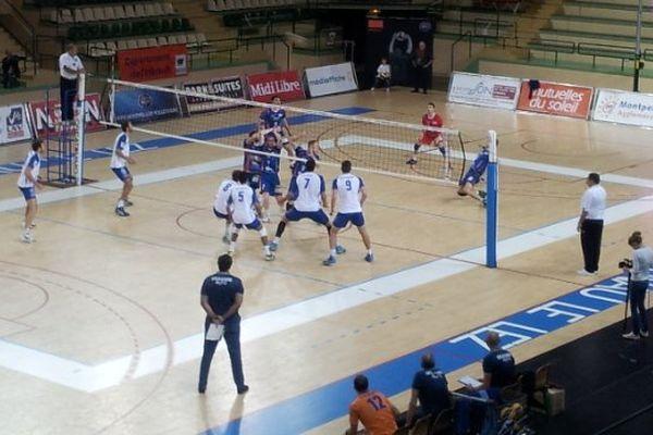 Montpellier - le MAVUC bat Lyon 3 sets à 1 - 15 octobre 2013.