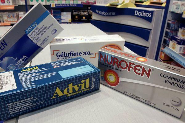 Advil, Nurofen, Antaren... Autant de médicaments qui contiennent de l'ibuprofène.