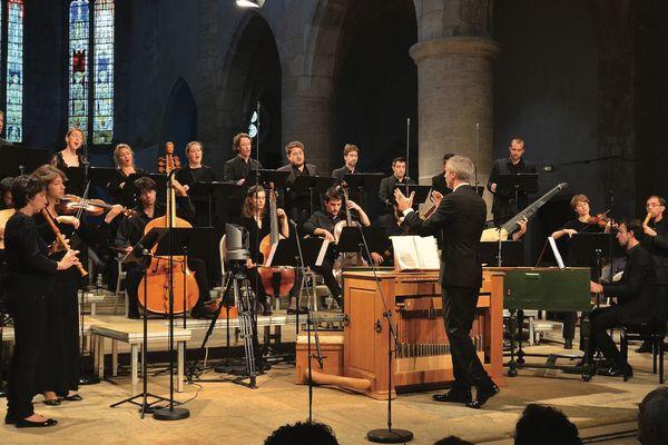 Le 40e Festival d'Ambronay se déroule du 12 septembre au 6 octobre 2019.