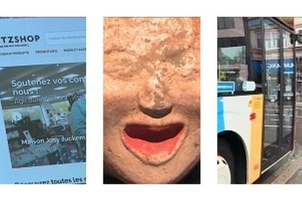 À travers trois magazines, nous vous proposions de découvrir la politique adoptée par le luxembourg : culture, transport, économique.