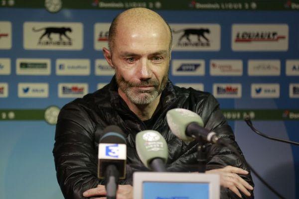 Cédric Daury, entraîneur de l'AJ Auxerre