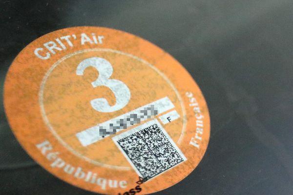 A partir de ce samedi 28 novembre, les véhicules dotés d'une vignette Crit'Air 3 ne seront pas autorisés à circuler.