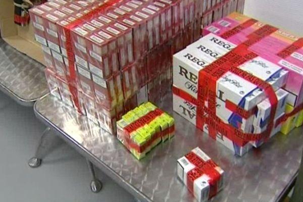 En tout ce sont 600 cartouches de cigarettes de contrebande que les policiers nîmois ont saisi