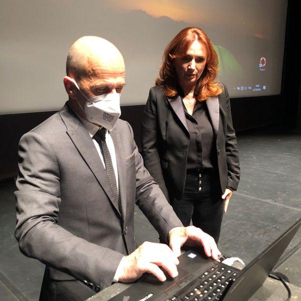 Patrick Rébillout et Marina Raibaldi