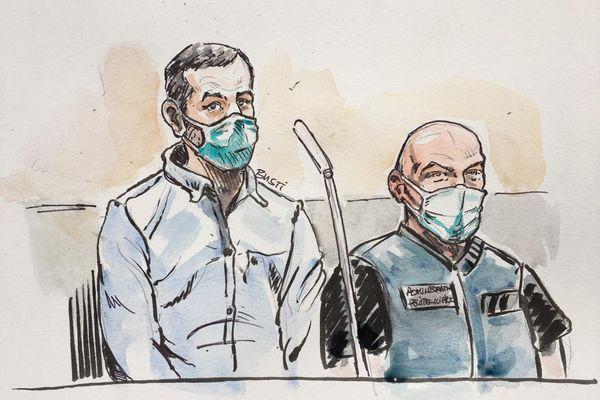 Nordahl Lelandais est jugé à partir du 3 mai 2021 devant les assises de la Savoie pour le meurtre du caporal Arthur Noyer.