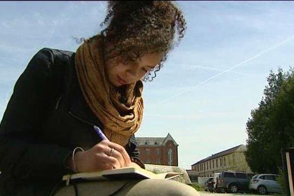 """Julie Majcher, lycéenne à Dreux en Eure-et-Loir remporte le prix """"Bulles de mémoire"""""""