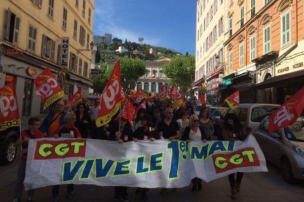 Défilé du 1er mai à Bastia