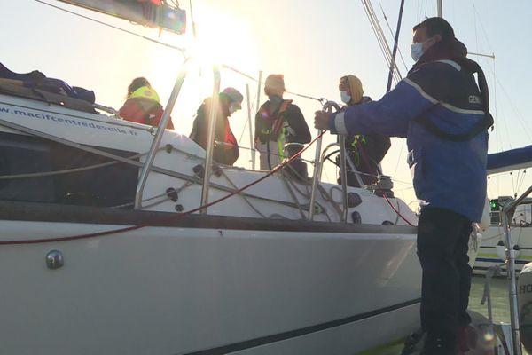 Depuis le 2 novembre, la Brigade Nautique de La Rochelle effectue des contrôles en mer