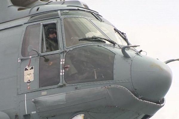 L'hélicoptère de la Marine nationale (Archives)
