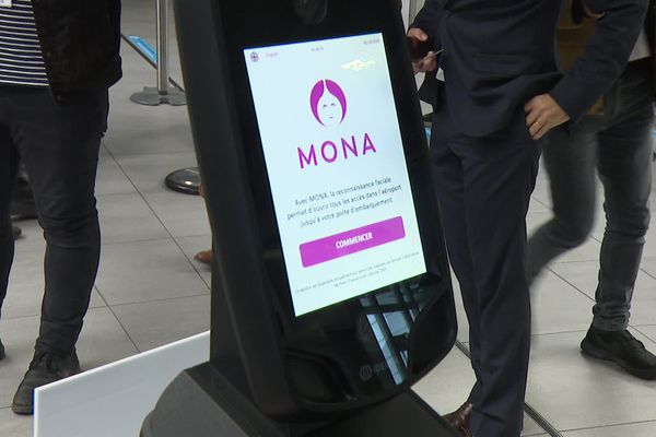 La reconnaissance faciale fait son entrée à l'aéroport Lyon Saint-Exupéry. Un dispositif est testé pendant un an