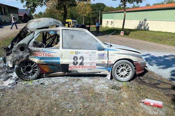 Accident mortel sur le Rallye de Lorraine