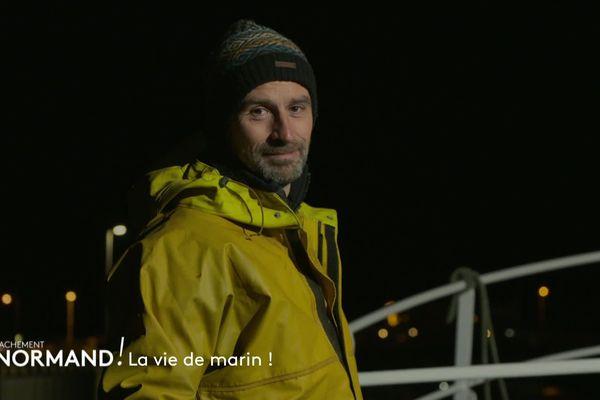 Vincent Chatelain en immersion avec Ludovic, un marin pêcheur