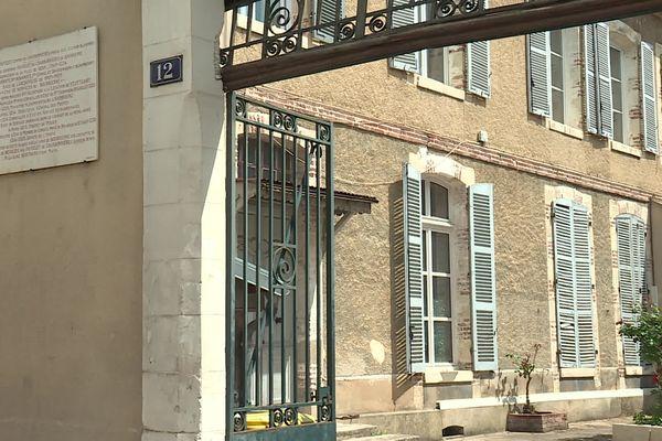 L'hôtel de Bourrienne, maison natale et demeure familiale de l'ami et secrétaire intime de Napoléon, à Sens