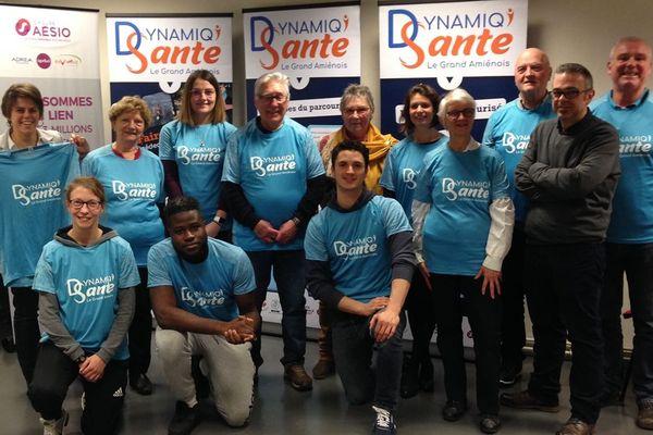 L'équipe de la Maison Sport-Santé de l'office des sports d'Amiens Métropole
