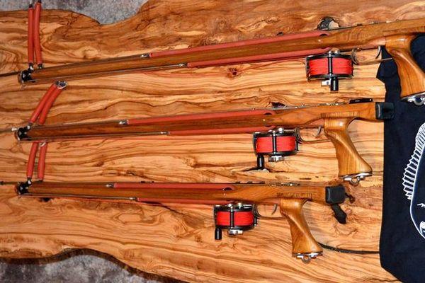 Artisanat - Des fusils de chasse sous-marine en bois d'exception made in Corse