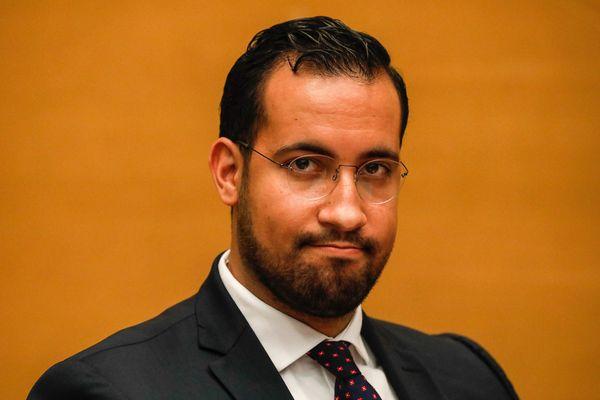 Alexandre Benalla, auditionné par la commission d'enquête du Sénat, le 19 septembre 2018.