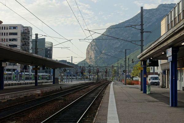 La gare de Grenoble