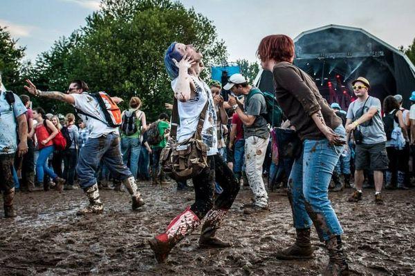 Les Eurockéennes dans la boue