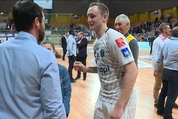 Il était venu à Orléans avec son club de Montpellier, il est cet après-midi en Indre-et-Loire en tant que parrain du Chambray Touraine Handball