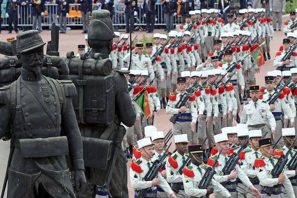Les cérémonies du 150ème anniversaire du combat de Camerone en 2013